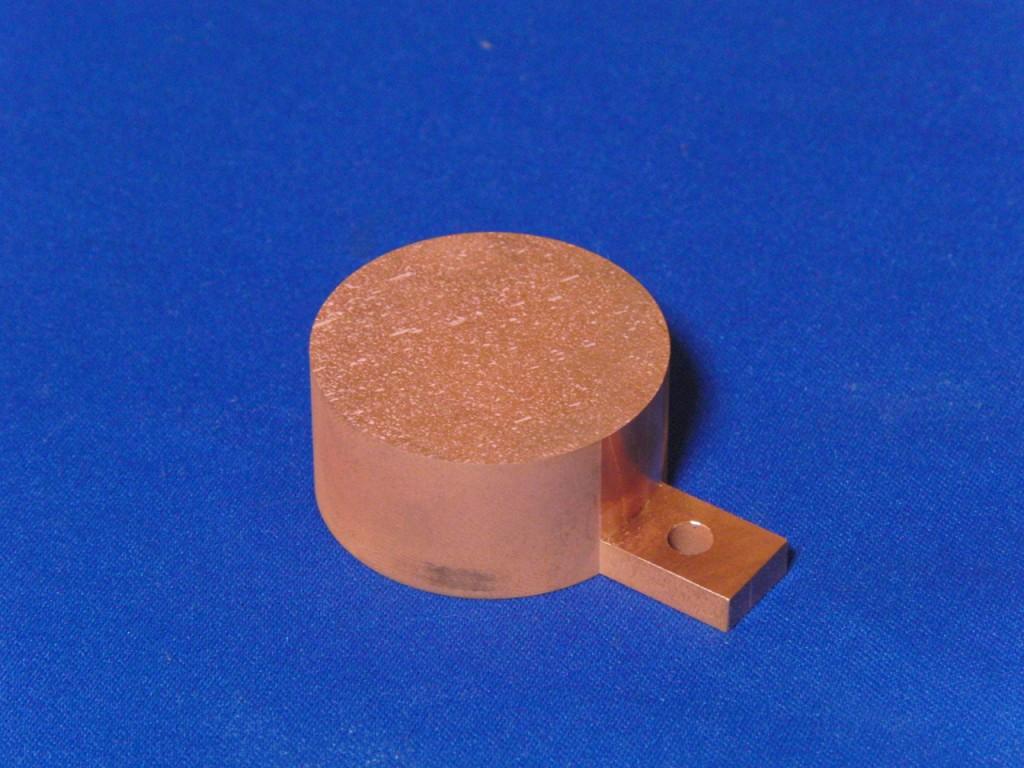 ワイヤーカット加工事例|素材:りん脱酸銅,