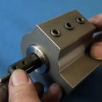 旋盤内径工具専用オーダーメイドホルダー
