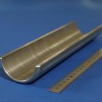 下町ボブスレー2号機製作部品|アクスル補強ステー|1台あたり1個×2セット製作