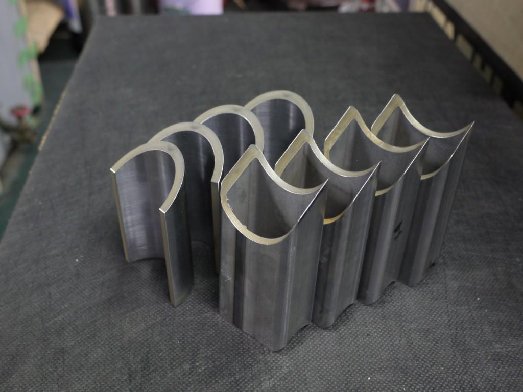 下町ボブスレー4号機製作部品|アクスル取り付けステー|1台あたり2個×2セット製作