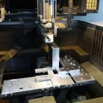 下町ボブスレー5号機改造部品|溶接用角度ブロック|ワイヤーカット