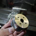 旋盤フライスワイヤー放電カット軸受け加工|ステンレス|草刈りロボット部品