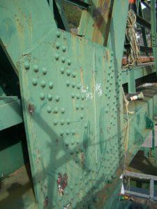 ケレン工具開発試験|橋梁塗装剥離工具開発